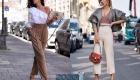 С чем носить брюки с высокой талией в 2020 году