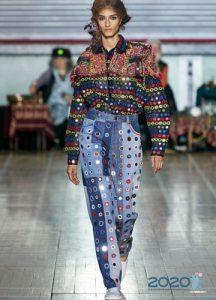 Модные джинсы весна-лето 2020