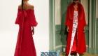 Flame Scarlet  модные цвета от пантон на 2020 год