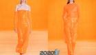 Апельсиновая корка / Orange Peel Пантон весна-лето 2020
