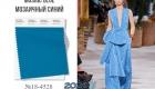 Мозаичный синий / Mosaic Blue (№18-4528)