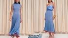 Мозаичный синий  Пантон весна-лето 2020