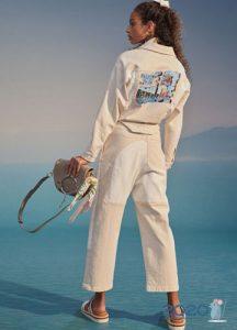 Модные светлые джинсы сезона весна-лето 2020