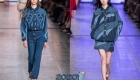 Модный джинсовый тотал-лук сезона весна-лето 2020