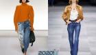 Модные модели джинсовых брюк весна-лето 2020
