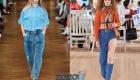 Трендовые джинсы мода весны 2020 года