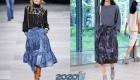 Модные джинсовые юбки сезона весна-лето 2020