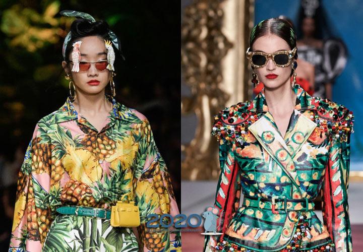Очки с эффектным декором - мода сезона весна-лето 2020