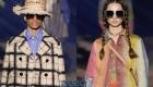 Большие квадратные очки Christian Dior весна-лето 2020