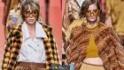 Большие квадратные очки Fendi  весна-лето 2020