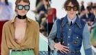 Большие квадратные очки Gucci весна-лето 2020
