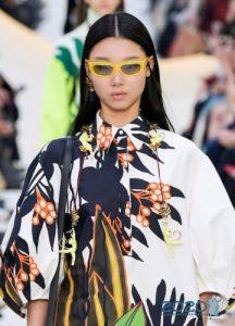 Модные очки с желтой оправой весна-лето 2020