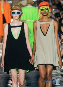 Модные очки с яркой оправой весна-лето 2020
