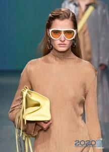 Модные очки с белой оправой весна-лето 2020