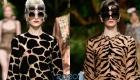 Двойные очки Dolce & Gabbana весна-лето 2020