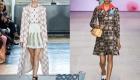 Стильное клетчатое пальто мода весны 2020 года