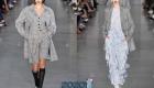 Стильное пальто в клетку мода весны 2020 года