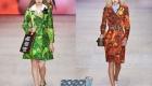 Модные яркие модели пальто на весну 2020 года