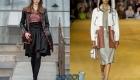 Модное кожаное пальто весна 2020