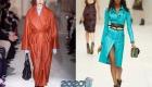 Модное женское пальто на 2020 год кожаные модели