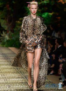 Леопардовое пальто весна 2020