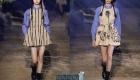 Коктейльные платья от Диор сезона весна-лето 2020