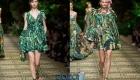 Коктейльные платья от Dolce & Gabbana сезона весна-лето 2020