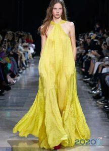 Платье длины макси - тренд весны и лета 2020 года