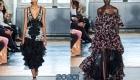 Рюши и воланы - тренд вечерней моды 2020 года