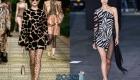 Платье весна-лето 2020 в стиле анималистики