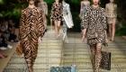 Леопардовое и тигровое платье весна 2020