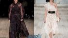 Модные прозрачные платья весны и лета 2020