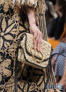 Вязаная сумка - мода весны и лета 2020 года