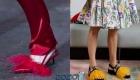Необычные туфли весны 2020