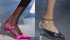 Модные туфли с открытой пяткой для вены 2020 года
