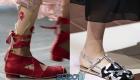 Модные женские туфли без каблука на весну 2020 года
