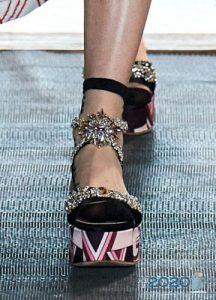 Модные летние туфли на 2020 год