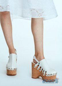 Модные туфли на платформе весна и лето 2020