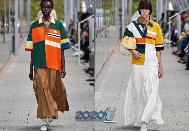 Стильные футболки поло весна-лето 2020