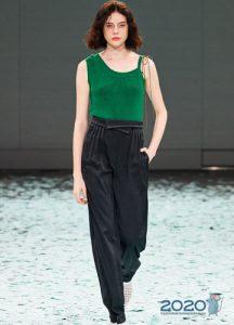Модная майка на лето 2020 года