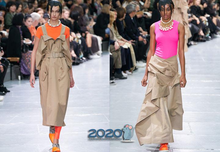 Модные неоновые футболки 2020 года