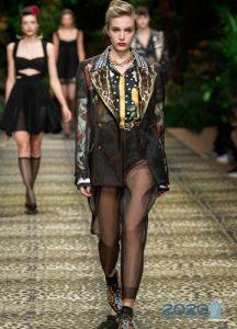 Модная куртка Dolce & Gabbana сезона весна-лето 2020