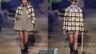 Модная куртка в клетку от Диор весна-лето 2020
