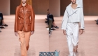 Модная кожаная куртка на весну 2020 года