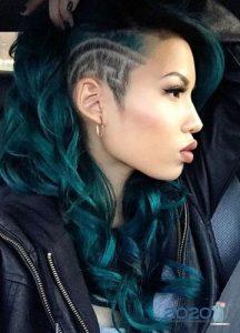 Эктсравагантные стрижки на длинные волосы