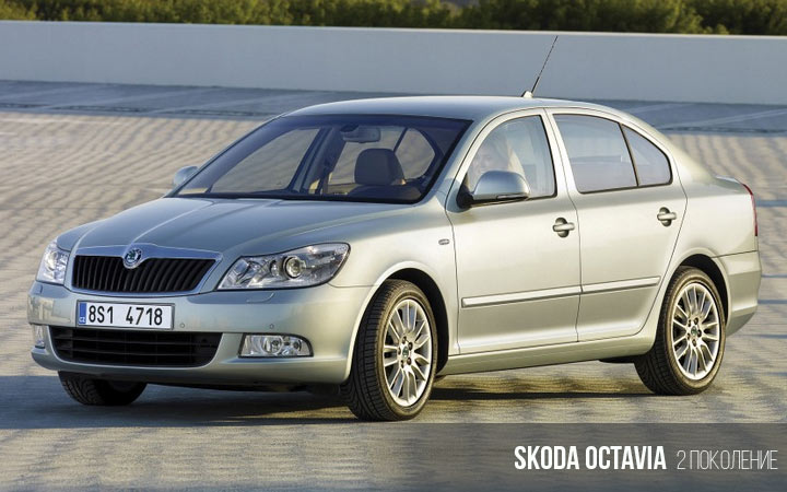 Skoda Octavia 2-е поколение