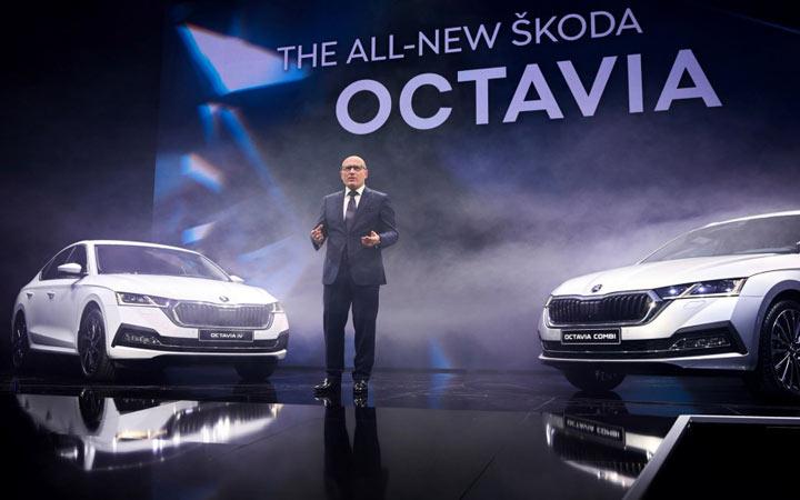 В Праге представлены новые модели Skoda Octavia 2020
