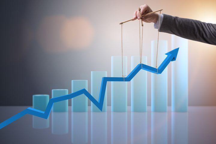 График роста ставок