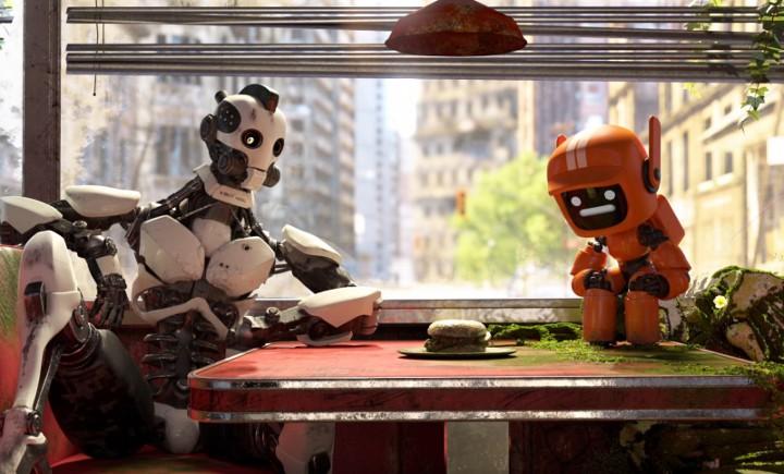 кадр из сериала Любовь, смерть и роботы