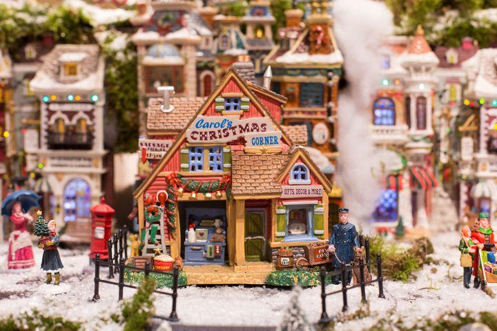 Рождественская ярмарка в ГУМе